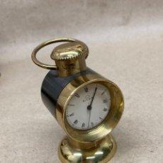 Relojes de carga manual: RELOJ SOBREMESA BULER MOYRACERO CARGA MANUAL. Lote 262550900