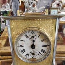 Relojes de carga manual: ANTIGUO RELOJ DE CARRUAJE JUNGHANS FUNCIONANDO PERFECTO. Lote 262875810