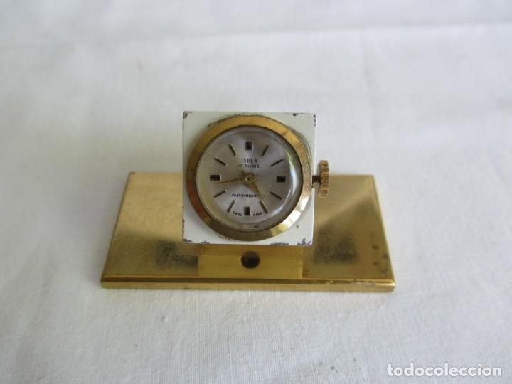 Relojes de carga manual: Reloj Isben de sobremesa a cuerda forma de dado Publicidad Butano - Foto 2 - 262911255