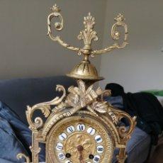 Relojes de carga manual: ESPECTACULAR RELOJ DE BRONCE. CIRCA 1900.. Lote 263222540