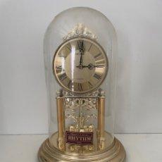 Relojes de carga manual: RELOJ DE MESA RHYTHM JAPAN VINTAGE. Lote 264077320