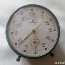 Relojes de carga manual: RELOJ-DESPERTADOR WERHLE MADE IN GERMANY; PARA REPARAR. Lote 264327784