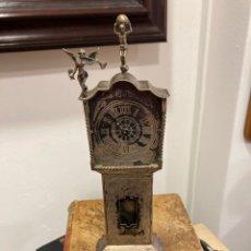 Relojes de carga manual: PRECIOSO RELOJ DE SOBREMESA EN PLATA, HOLANDÉS. Lote 267011209