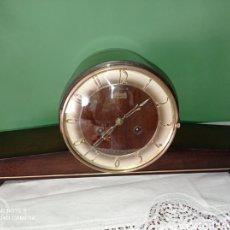 Horloges à remontage manuel: ANTIGUO RELOJ DE SOBREMESA HERMLE SCHWEBE ANKER , AÑOS 50.. Lote 267202039