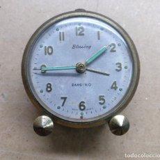 Relógios de carga manual: RELOJERIA, ANTIGUO RELOJ DESPERTADOR , BLESSING BAMBINO - PARA PIEZAS. Lote 267428854