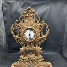 Orologi di carica manuale: ANTIGUO RELOJ DE BRONCE A CUERDA. Lote 267730864