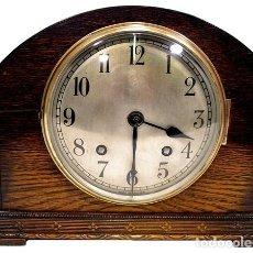 Relojes de carga manual: RELOJ DE SOBREMESA INGLES DE 1900. BRITISH UNITED CLOCK CO. Lote 267825544