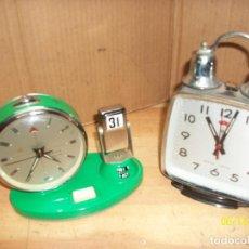 Relojes de carga manual: LOTE DE DOS RELOJES CHINOS. Lote 269188768