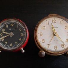 Relojes de carga manual: LOTE RELOJES ANTIGUOS DE CUERDA. Lote 269219703
