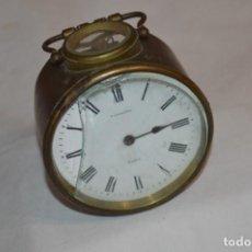 Relojes de carga manual: VINTAGE / ANTIQUÍSIMO RELOJ DE MESA / T. PHILIPPE PARIS / CARGA MANUAL, DE BRONCE/LATÓN ¡MIRA!. Lote 269297878