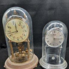 Relojes de carga manual: 2 RELOJ KUNDO ALEMANES. Lote 269321308