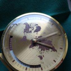 Relojes de carga manual: RELOJ DE SOBREMESA KIENZLE CON HORARIO MUNDIAL. ALEMANIA, AÑOS 60.. Lote 269587323
