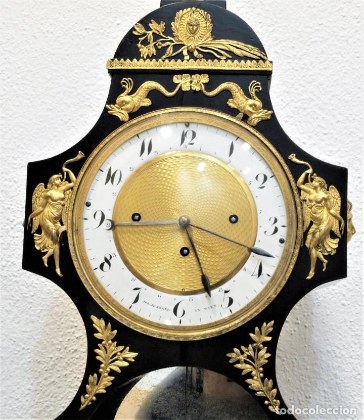 Relojes de carga manual: Reloj antiguo Vienés – austríaco de estilo Biedermeier - Foto 3 - 270909088