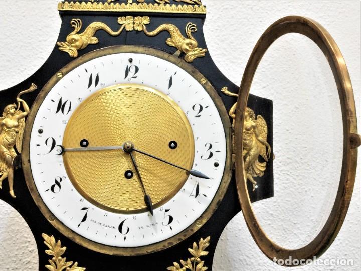 Relojes de carga manual: Reloj antiguo Vienés – austríaco de estilo Biedermeier - Foto 4 - 270909088