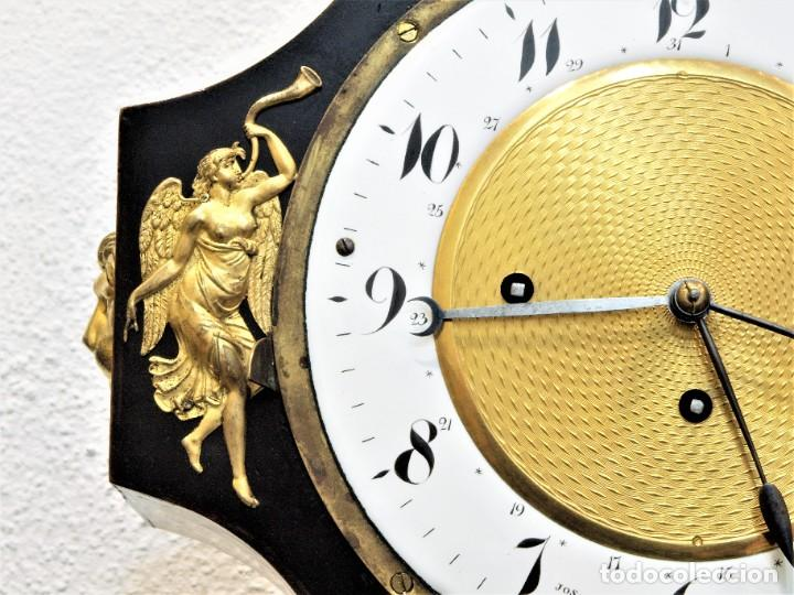 Relojes de carga manual: Reloj antiguo Vienés – austríaco de estilo Biedermeier - Foto 5 - 270909088