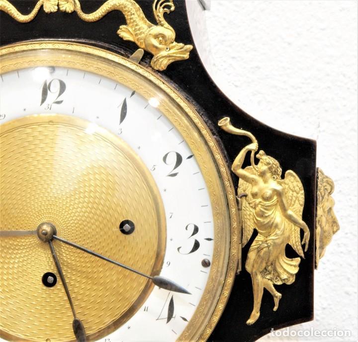 Relojes de carga manual: Reloj antiguo Vienés – austríaco de estilo Biedermeier - Foto 6 - 270909088