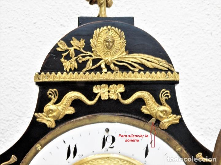 Relojes de carga manual: Reloj antiguo Vienés – austríaco de estilo Biedermeier - Foto 7 - 270909088