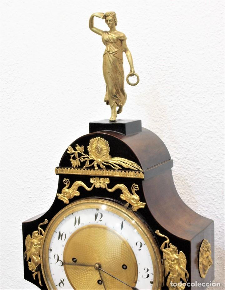 Relojes de carga manual: Reloj antiguo Vienés – austríaco de estilo Biedermeier - Foto 8 - 270909088