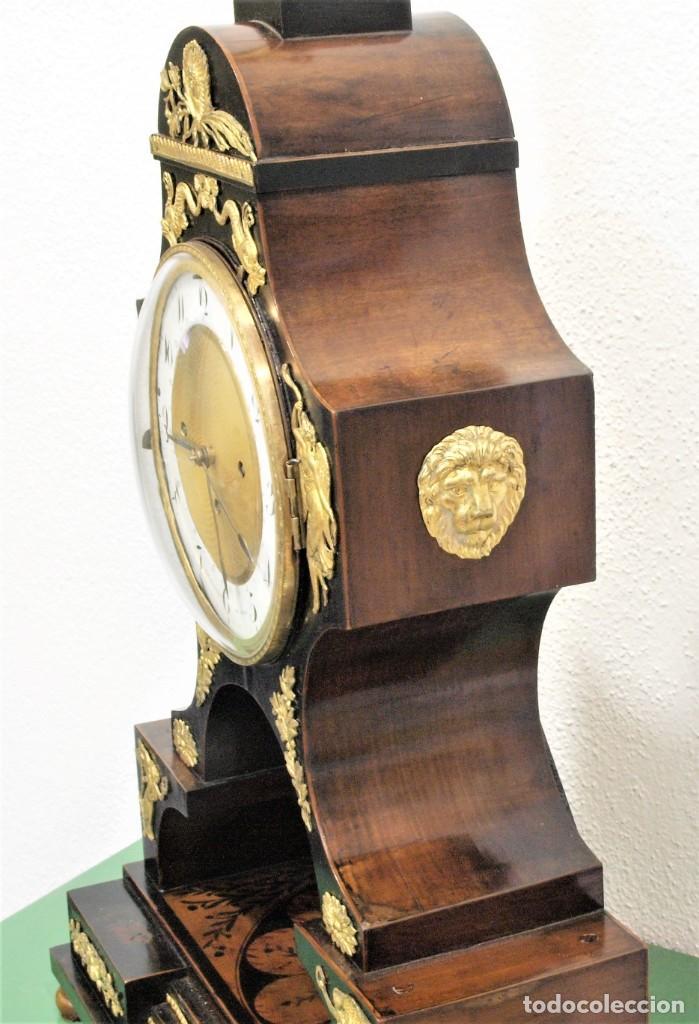 Relojes de carga manual: Reloj antiguo Vienés – austríaco de estilo Biedermeier - Foto 11 - 270909088