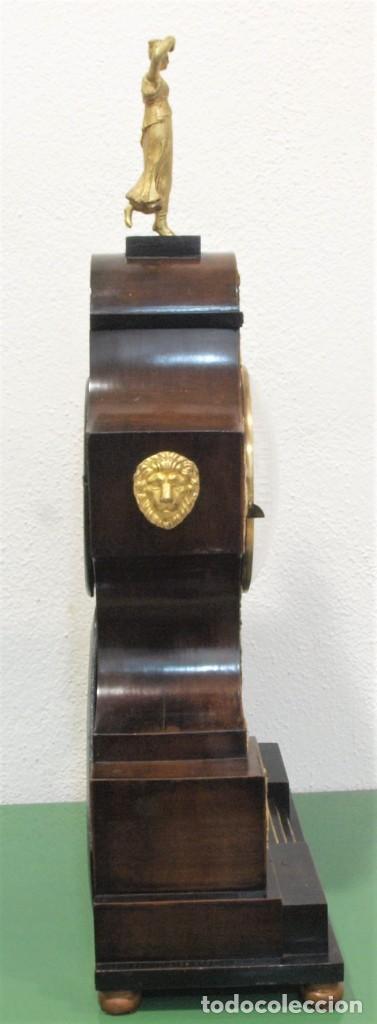 Relojes de carga manual: Reloj antiguo Vienés – austríaco de estilo Biedermeier - Foto 13 - 270909088