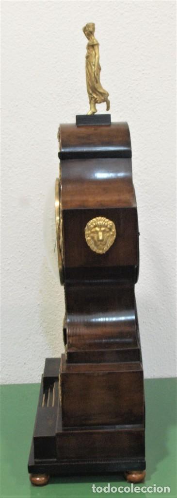 Relojes de carga manual: Reloj antiguo Vienés – austríaco de estilo Biedermeier - Foto 14 - 270909088