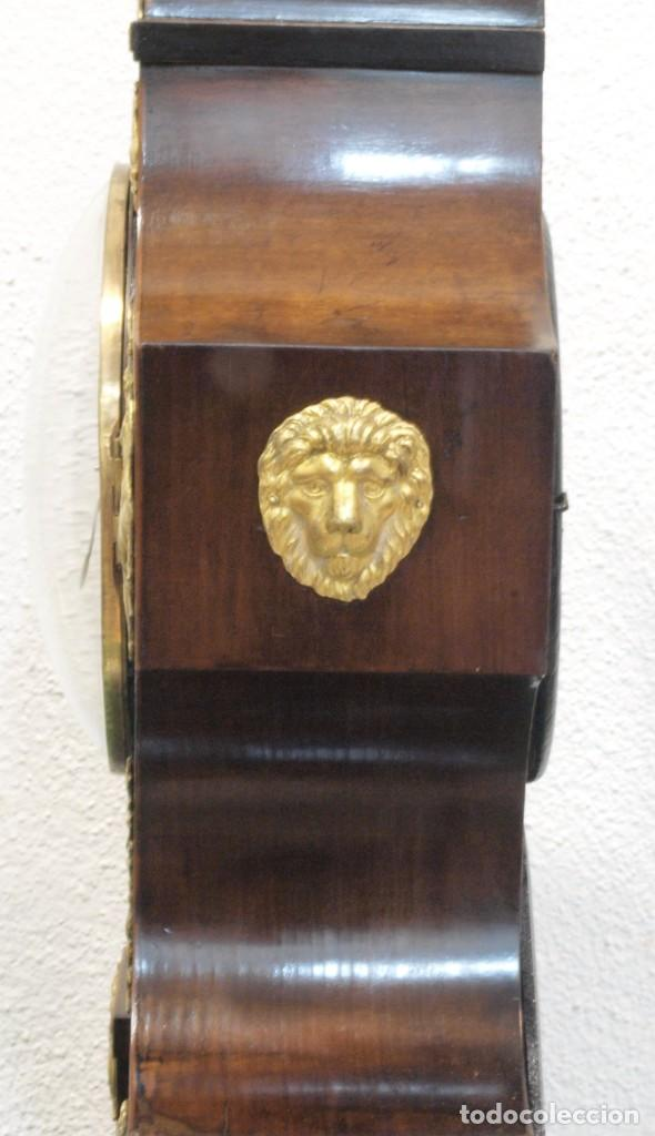 Relojes de carga manual: Reloj antiguo Vienés – austríaco de estilo Biedermeier - Foto 15 - 270909088