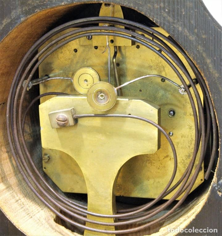 Relojes de carga manual: Reloj antiguo Vienés – austríaco de estilo Biedermeier - Foto 19 - 270909088