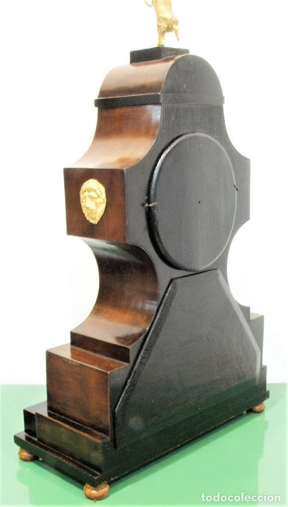 Relojes de carga manual: Reloj antiguo Vienés – austríaco de estilo Biedermeier - Foto 20 - 270909088