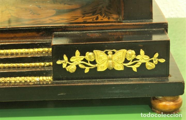 Relojes de carga manual: Reloj antiguo Vienés – austríaco de estilo Biedermeier - Foto 22 - 270909088