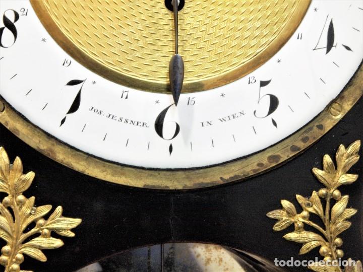 Relojes de carga manual: Reloj antiguo Vienés – austríaco de estilo Biedermeier - Foto 23 - 270909088
