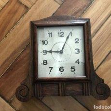 Relojes de carga manual: RELOJ DE SOBREMESA MARCA H.A.C, HACIA 1927. Lote 272365528