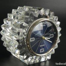 Orologi di carica manuale: RELOJ MARCA MERCEDES. CRISTAL TALLADO AÑOS 60 ALEMANIA. Lote 275519433