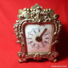 Orologi di carica manuale: ANTIGUO RELOJ FRANCÉS DE VIAJE - MAQUINARIA FUNCIONA - SE VENDE COMO DEFECTUOSO. Lote 275646868