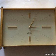 Relojes de carga manual: RELOJ DE SOBREMESA MICRO ELECTRIC JEWELS - MADE IN SPAIN - VINTAGE 60,S. Lote 276093003