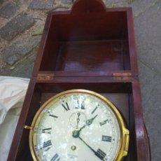 Orologi di carica manuale: RELOJ GRAN TAMAÑO SMITH NÁUTICO AÑOS 60.PARADO CAJA MADERA NOBLE.. Lote 276145028