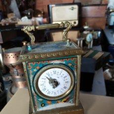 Horloges à remontage manuel: ESPECTACULAR RELOJ DE CARRUAJE GRAND PRIX 1878 FUNCIONA. Lote 276150898