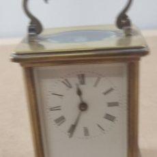 Horloges à remontage manuel: ANTIGUO RELOJ DE VIAJE CON DOBLE LLAVE. Lote 276469763