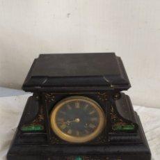Relojes de carga manual: ANTIGUO RELOJ FRANCÉS DE MÁRMOL SIGLO XIX. Lote 276907888