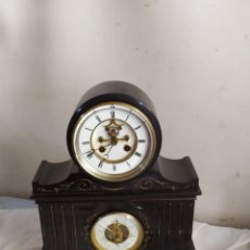 Relógios de carga manual: IMPRESIONANTE RELOJ NOTARIO ESCAPE VISTO Y TERMÓMETRO RARÍSIMO. Lote 276908893