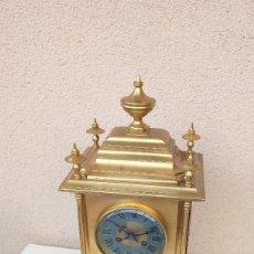 Horloges à remontage manuel: RELOJ ANTIGUO DE BRONCE AL MERCURIO ORO FINO SIGLO XIX BUEN ESTADO FUNCIONA ALTA COLECION. Lote 277025423