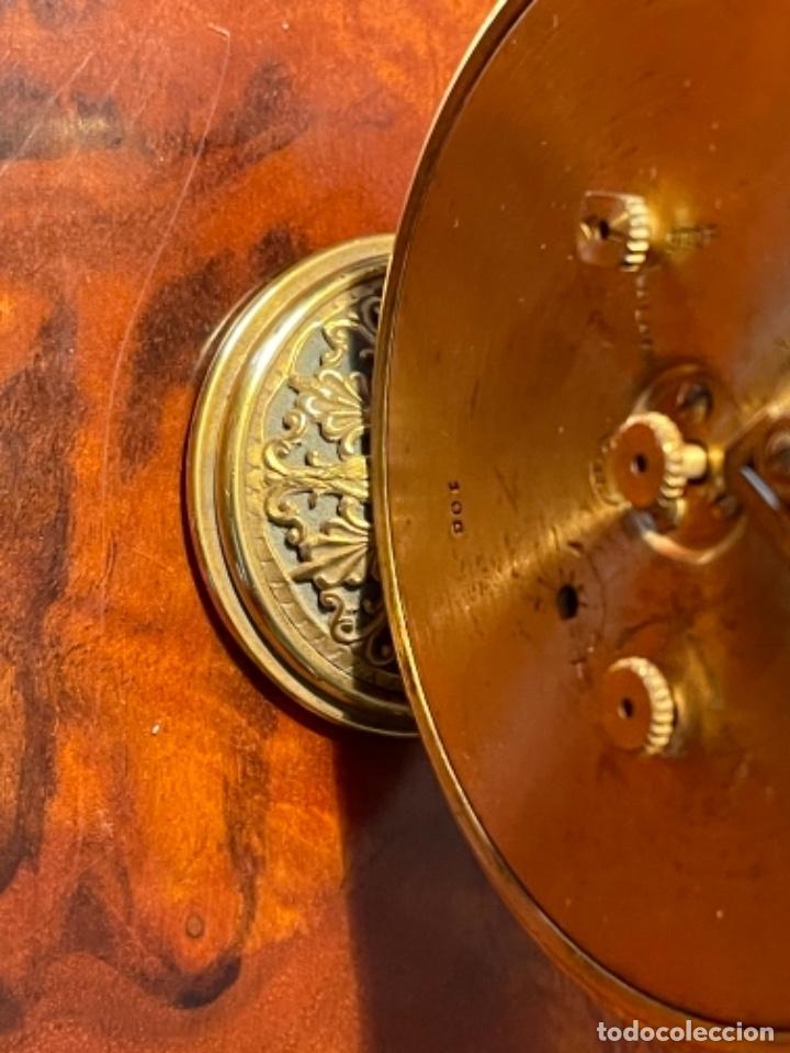 Relojes de carga manual: Reloj de viaje - Jaeger LE COULTRE RECITAL 8 colores oro - Segunda mitad del siglo XX - Foto 6 - 277464683
