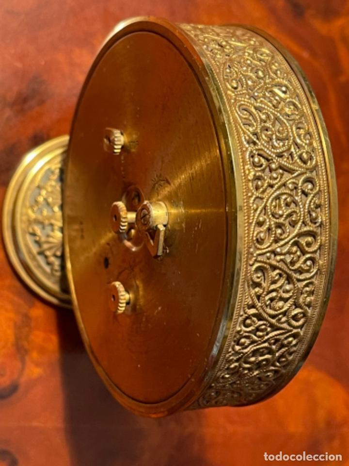 Relojes de carga manual: Reloj de viaje - Jaeger LE COULTRE RECITAL 8 colores oro - Segunda mitad del siglo XX - Foto 7 - 277464683