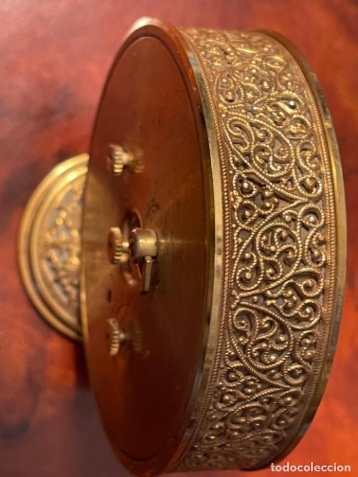 Relojes de carga manual: Reloj de viaje - Jaeger LE COULTRE RECITAL 8 colores oro - Segunda mitad del siglo XX - Foto 8 - 277464683