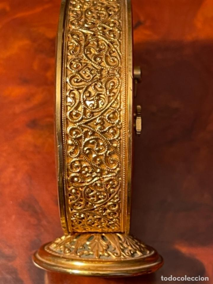 Relojes de carga manual: Reloj de viaje - Jaeger LE COULTRE RECITAL 8 colores oro - Segunda mitad del siglo XX - Foto 9 - 277464683