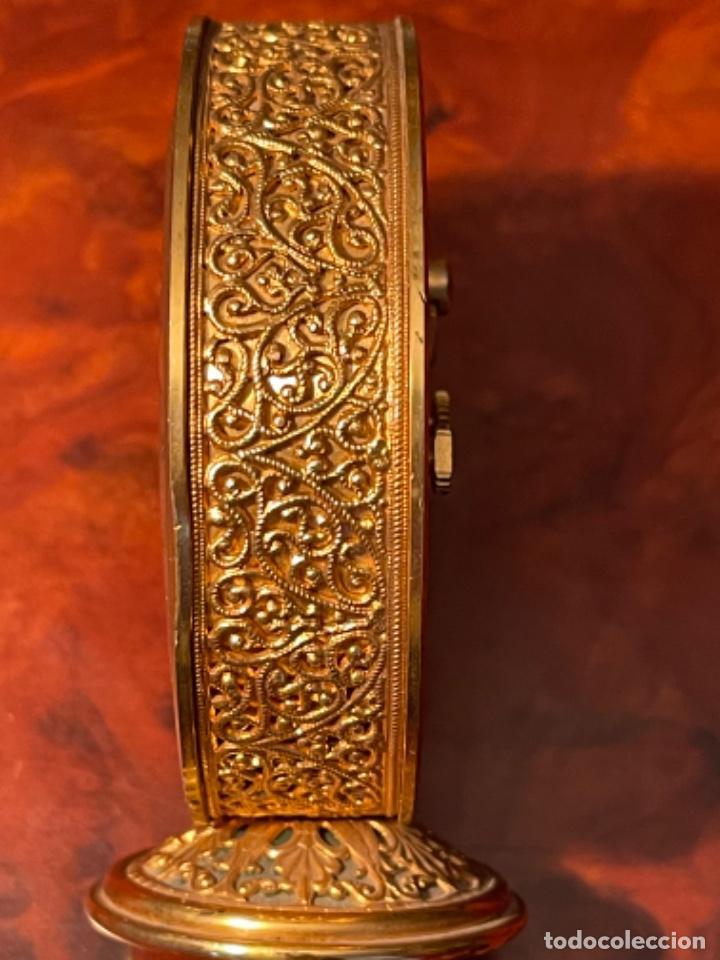 Relojes de carga manual: Reloj de viaje - Jaeger LE COULTRE RECITAL 8 colores oro - Segunda mitad del siglo XX - Foto 10 - 277464683