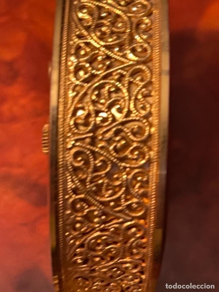 Relojes de carga manual: Reloj de viaje - Jaeger LE COULTRE RECITAL 8 colores oro - Segunda mitad del siglo XX - Foto 16 - 277464683