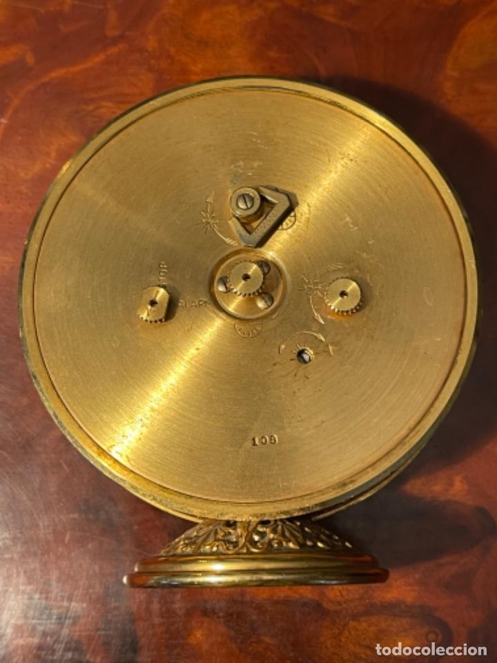 Relojes de carga manual: Reloj de viaje - Jaeger LE COULTRE RECITAL 8 colores oro - Segunda mitad del siglo XX - Foto 19 - 277464683