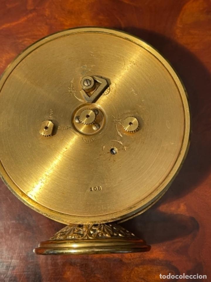 Relojes de carga manual: Reloj de viaje - Jaeger LE COULTRE RECITAL 8 colores oro - Segunda mitad del siglo XX - Foto 20 - 277464683