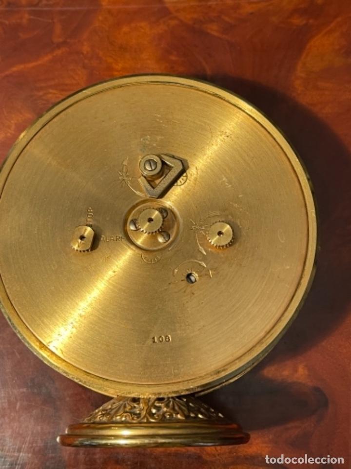 Relojes de carga manual: Reloj de viaje - Jaeger LE COULTRE RECITAL 8 colores oro - Segunda mitad del siglo XX - Foto 23 - 277464683