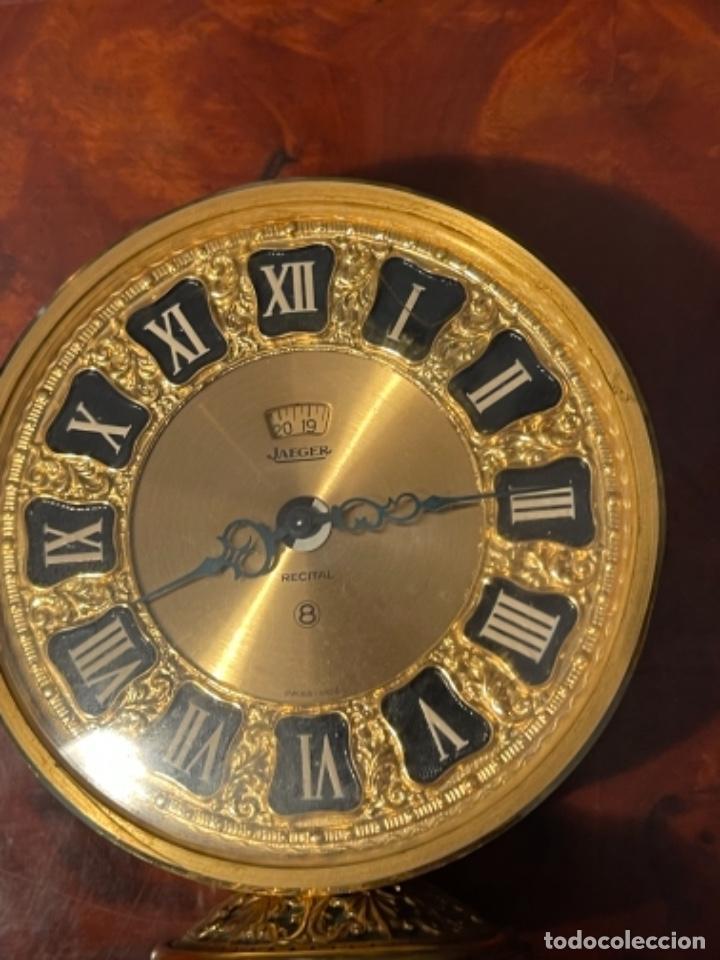 Relojes de carga manual: Reloj de viaje - Jaeger LE COULTRE RECITAL 8 colores oro - Segunda mitad del siglo XX - Foto 24 - 277464683